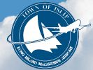 ISP logo - link to ISP airport